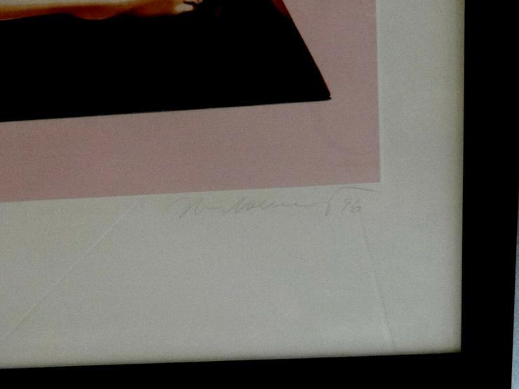 Bild 3: Schone MEL RAMOS Farblithografie Sweet Odalisque 1996