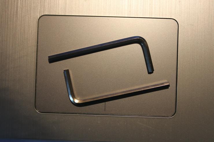 Winkelschraubendreher DIN 911 / SW 4 / galv. verzinkt