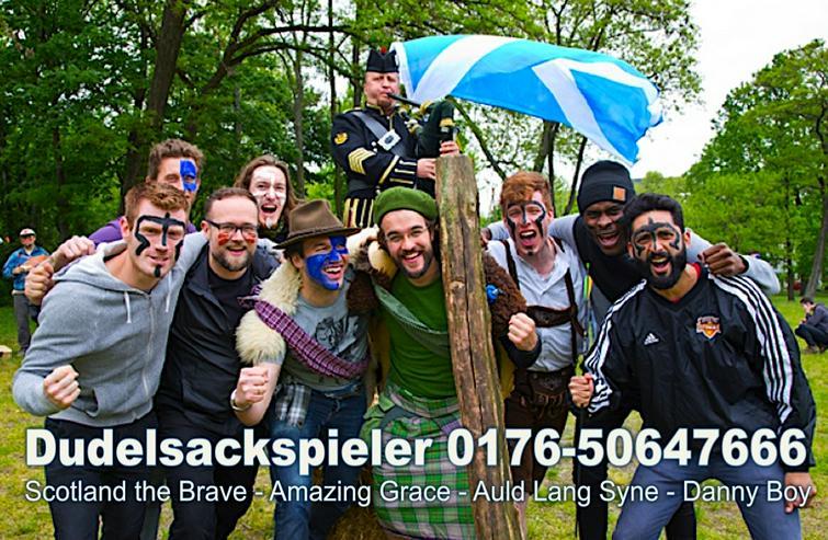 Bild 3: DUDELSACKSPIELER - BAGPIPER 0176-50647666 Halle Dessau Dresden Leipzig Zwickau
