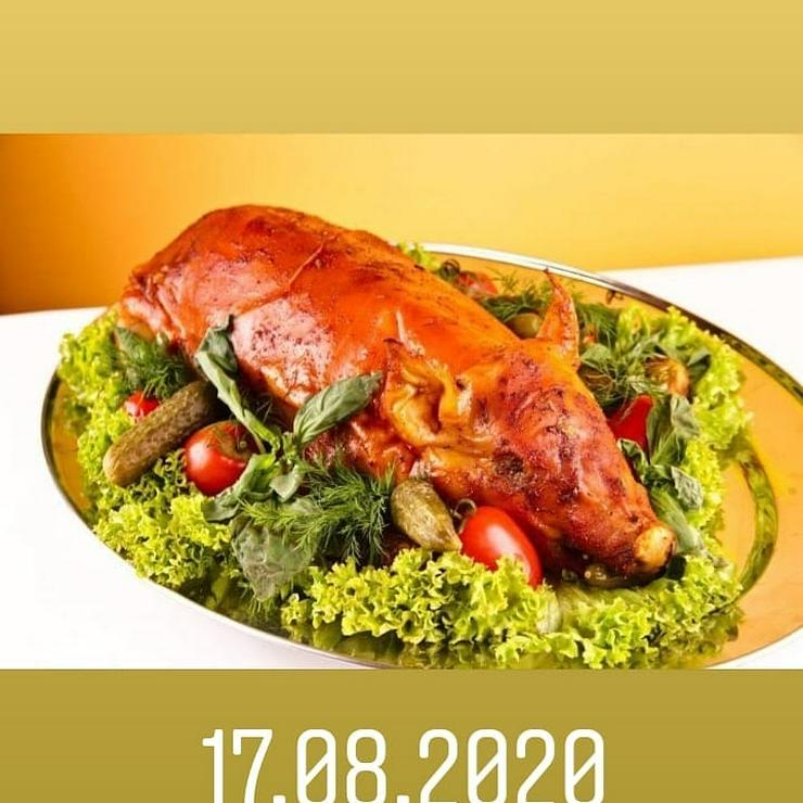 Bild 6: Geflügel u Schwein gebacken.gekasslert. gegrillt