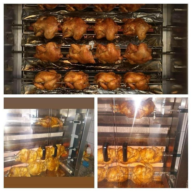 Bild 4: Geflügel u Schwein gebacken.gekasslert. gegrillt