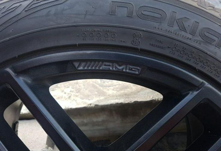 Bild 4: Räder auf Mercedes GLE