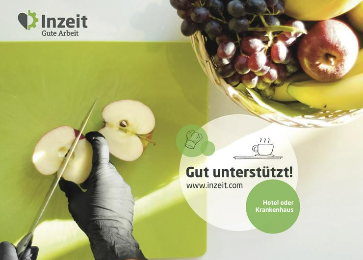 Küchenhelfer/-in für Berliner Pflegeheime und Krankenhäuser gesucht!