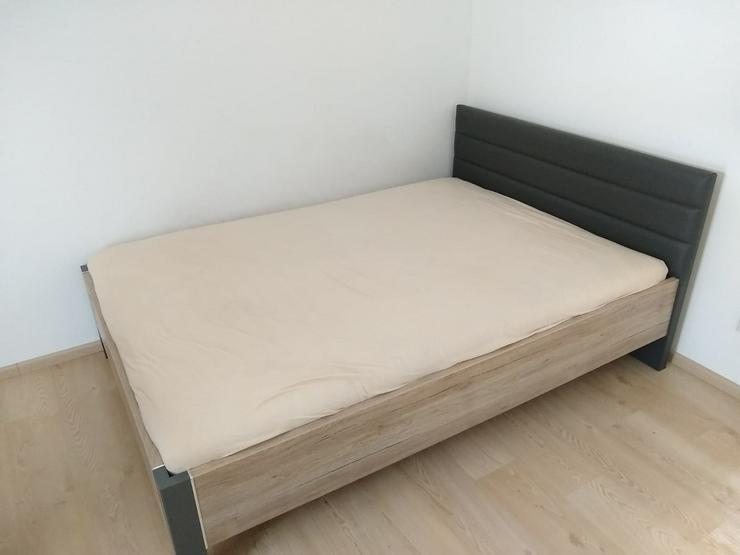 Schlafzimmer/Jugendzimmer Bett und Schrank