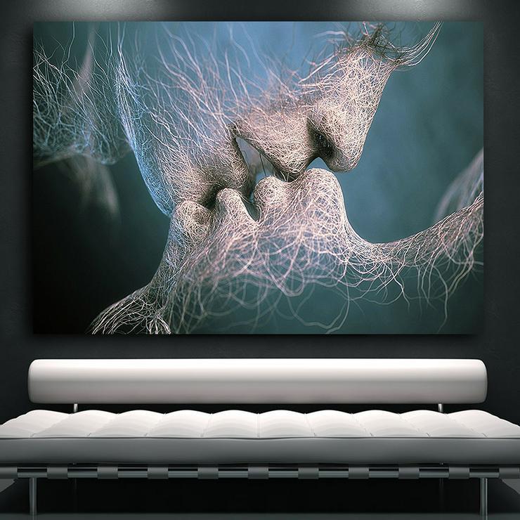 XXL Leinwandbilder Wandbilder Kunstdruck Leinwand Ikea Bilder - Bilderrahmen - Bild 1