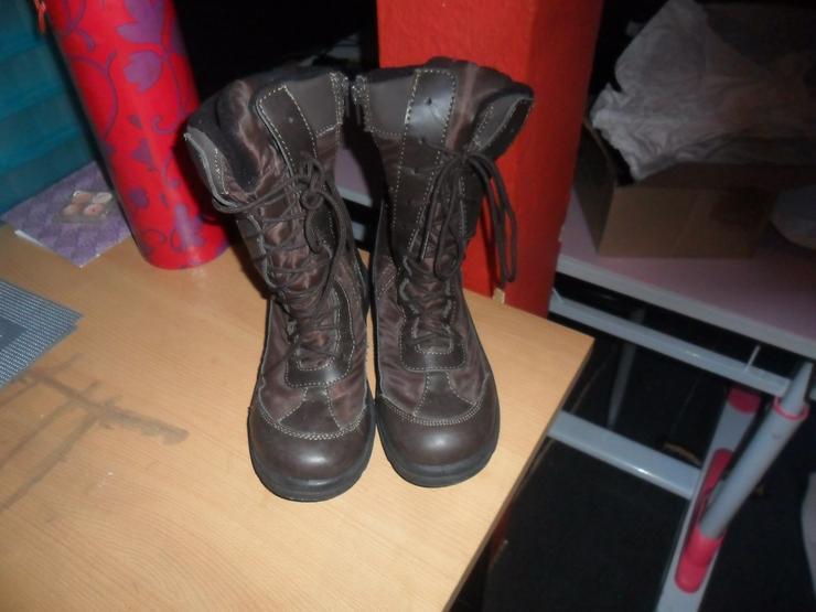 Stiefel mit Fell  Gr 39