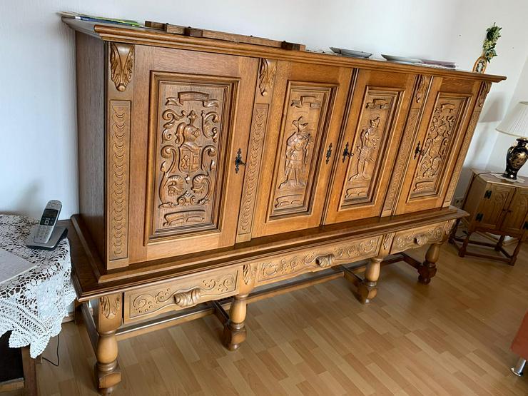 Bild 6: Sehr schönes und Hochwertiges Schrank , echt Holz , mit Schubladen ,sehr wenig Gebrauchsspuren .