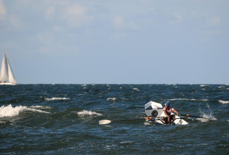 Coastal Surf Rower Ruderboot für Strand und Fjord