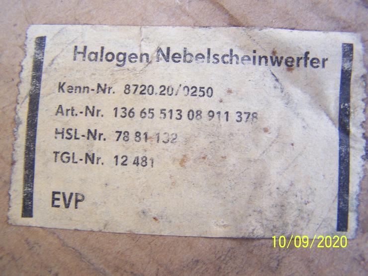 Bild 4: DDR Neuware ! 10 Nebelscheinwerfer Scheinwerfer Oldtimer Trabant Wartburg PKW LKW
