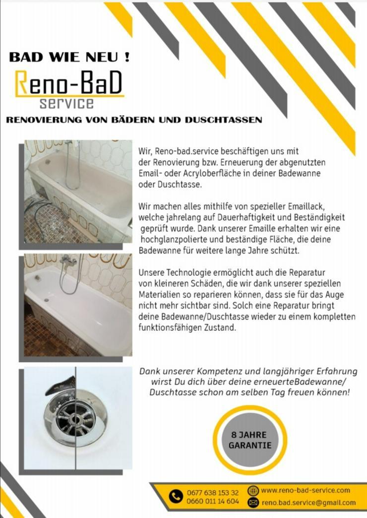 Renovierung von Badewannen und Duschwannen - Reparaturen & Handwerker - Bild 1