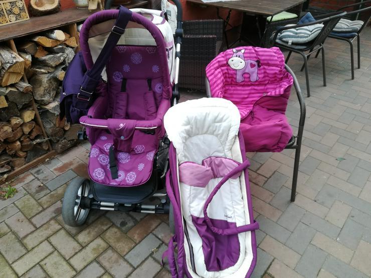Robuster Kinderwagen, wenig benutzt