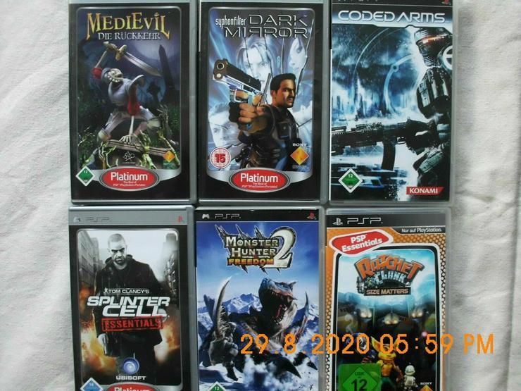 PSP PlayStation Portable spiele