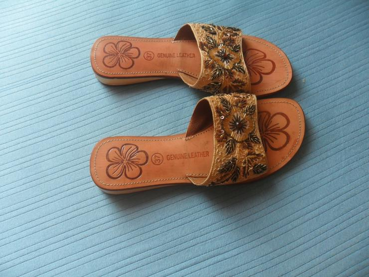 Bild 3: Tolle Sandaletten  Echt Leder  Gr 37