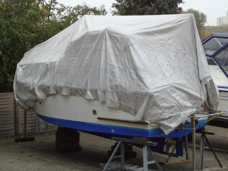 Suche für Winterlager Matallböcke für Heck+Bug  - Bootstrailer - Bild 1