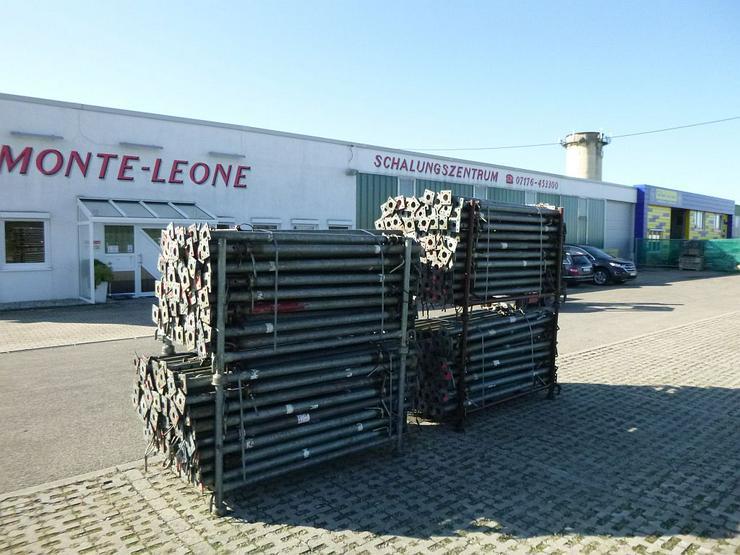 Bild 3: 340 St. Baustützen Müba 3m verzinkt Deckenstützen Baustempel Drehsteifen Steher