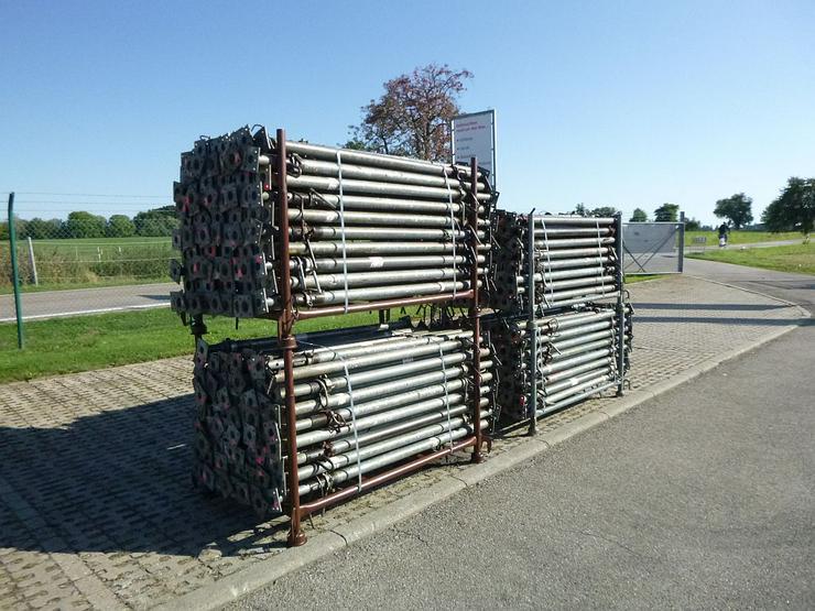 Bild 5: 340 St. Baustützen Müba 3m verzinkt Deckenstützen Baustempel Drehsteifen Steher
