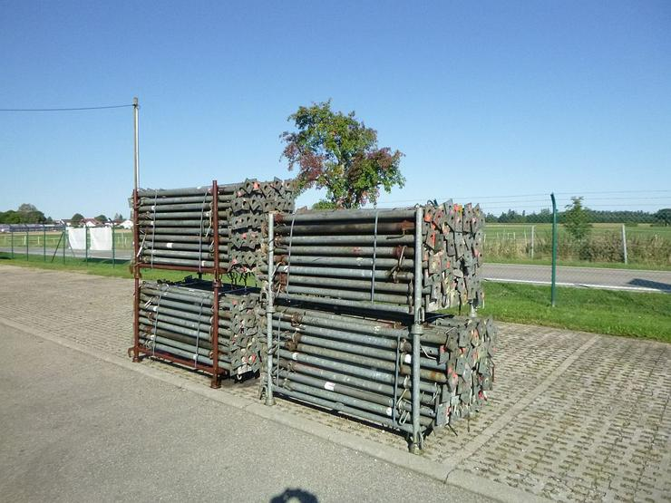 Bild 2: 340 St. Baustützen Müba 3m verzinkt Deckenstützen Baustempel Drehsteifen Steher