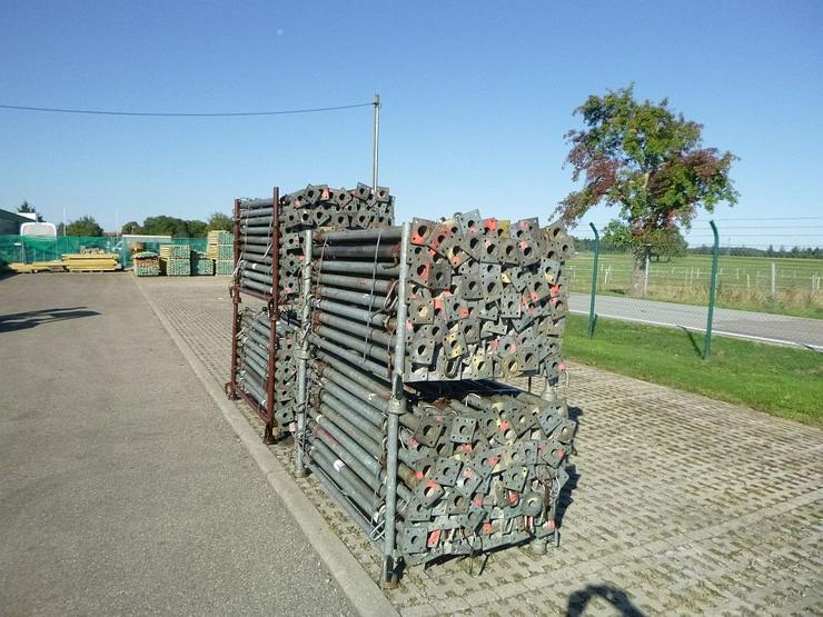 Bild 4: 340 St. Baustützen Müba 3m verzinkt Deckenstützen Baustempel Drehsteifen Steher