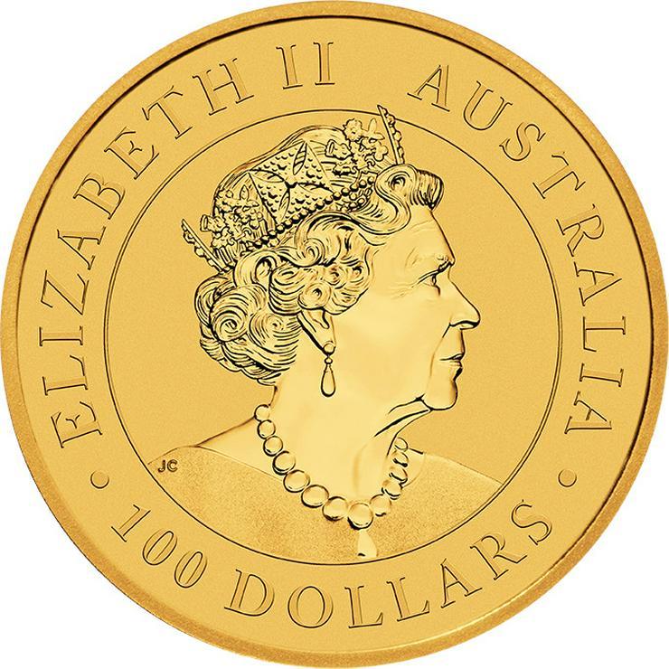Bild 2: Australien 1 Unze Goldmünze  Känguru 2020 Gold