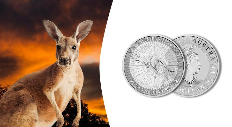 Australien Känguru 2020 1 Unze Silber