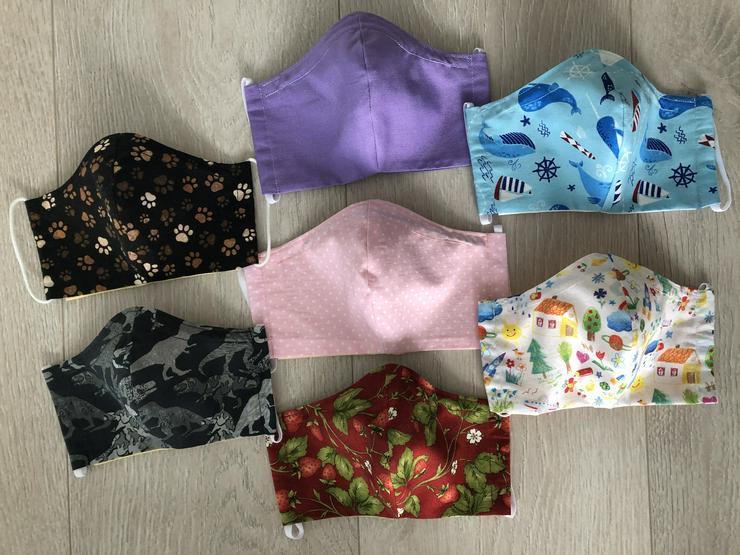 Mundschutz Maske Behelfsmaske für Kinder /Erwachsene  - Schals & Tücher - Bild 1