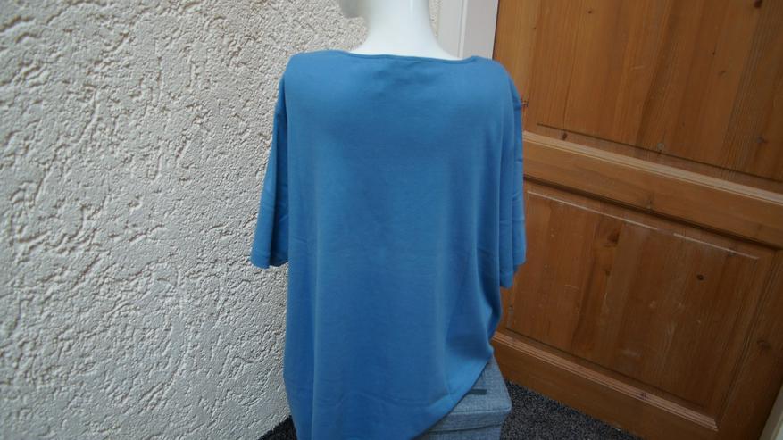 Bild 3: Shirt, Gr. 52, blau-weiß, Meine Größe