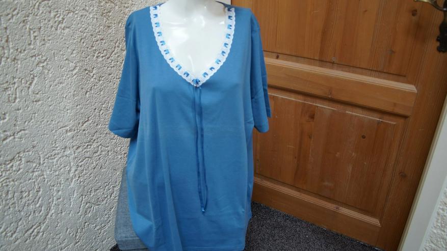 Shirt, Gr. 52, blau-weiß, Meine Größe - Größen > 50 / > XL - Bild 1