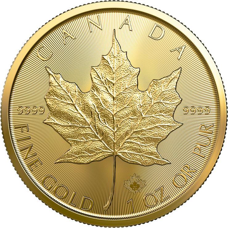 Kanada 1 Unze Goldmünze Maple Leaf 2020 Gold