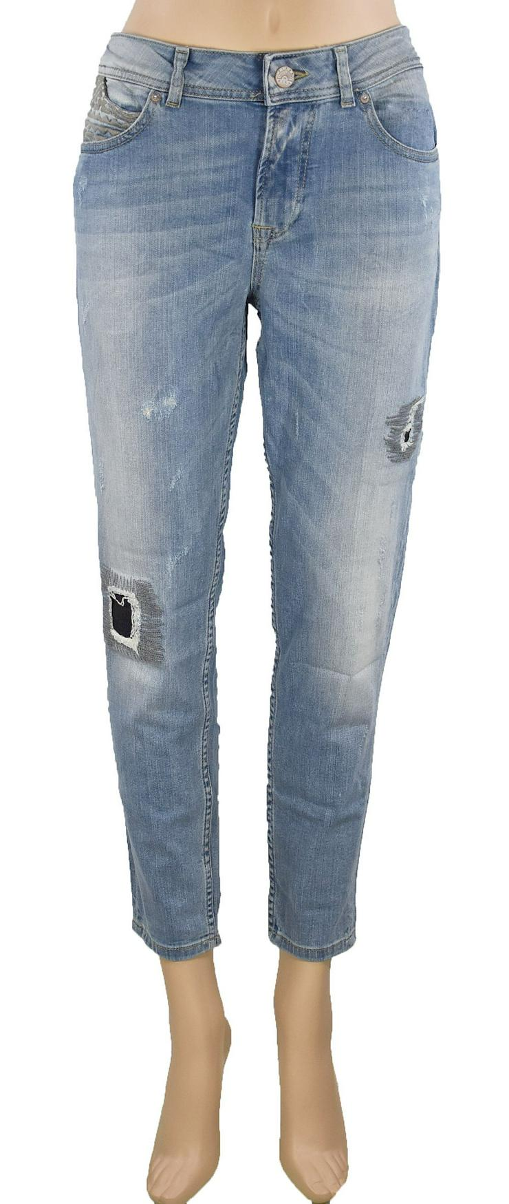 Tigerhill Boyfriend Jeans Aimi Roll Up Damen Jeans Hosen 23081400