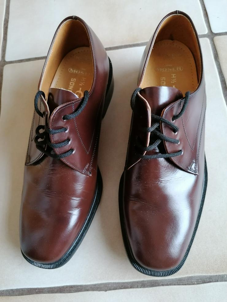 Elegante Herren Schuhe aus Leder