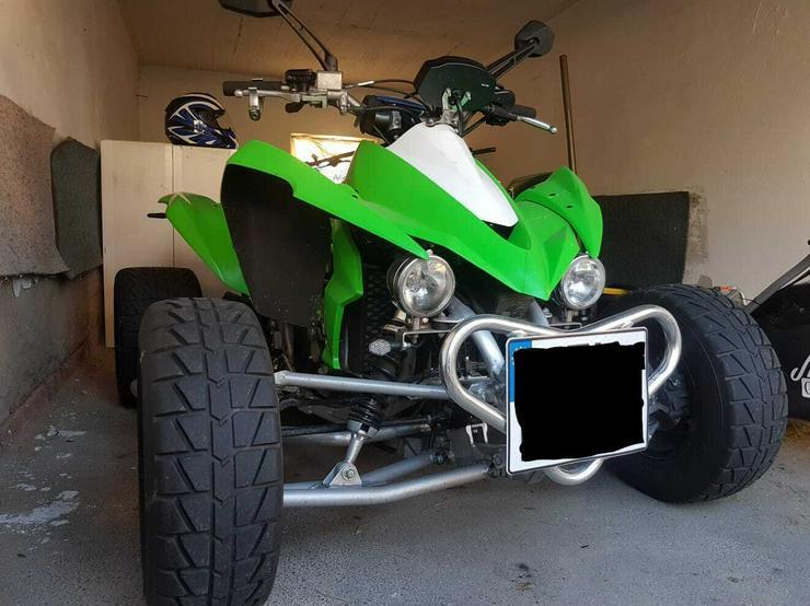 Quad ATV Kawasaki KFX 450R Grün 2012