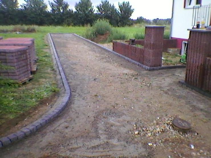 Bild 2: Plattenverlegung Pflasterverlegung Natursteinverlegung und Baggerarbeiten vom PROFI