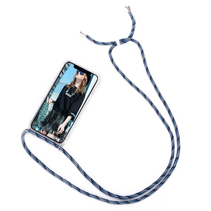 Handykette Iphone SE2020 Blue Mix. Versand separat