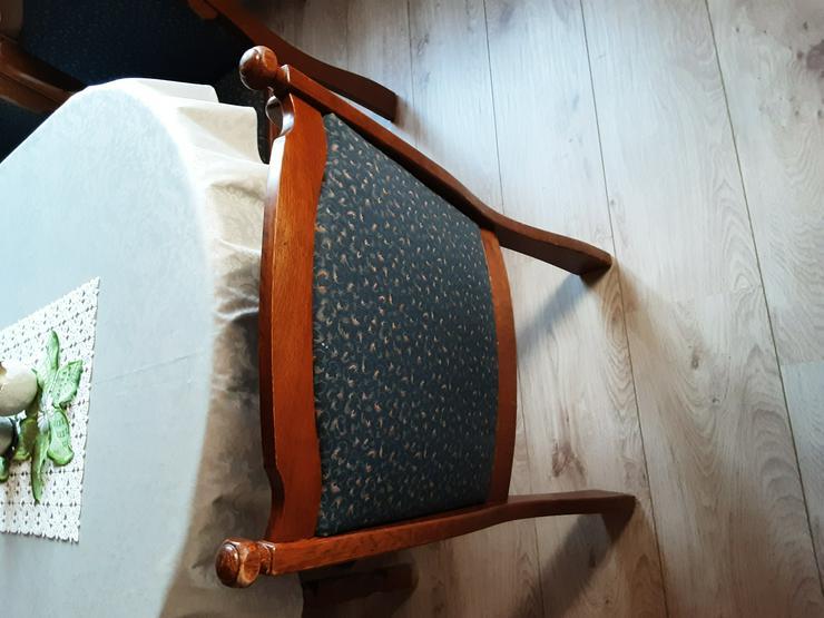 6 Stühle Eiche rustikal