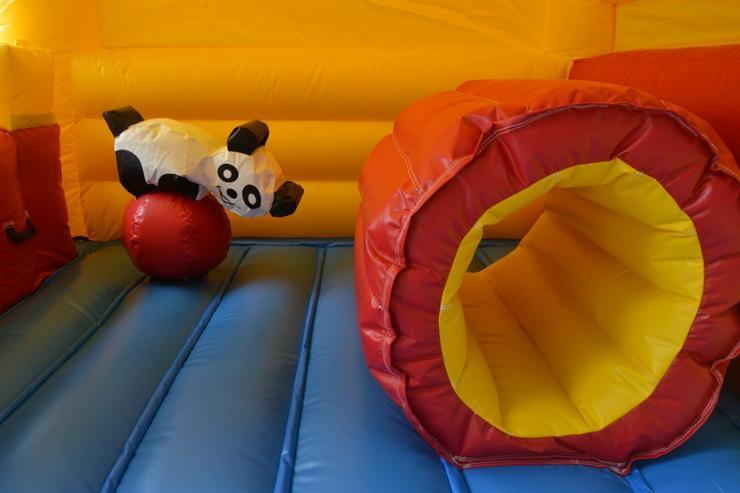 Bild 4: Hüpfburg Clown mit Rutsche 4x3x2,7 m