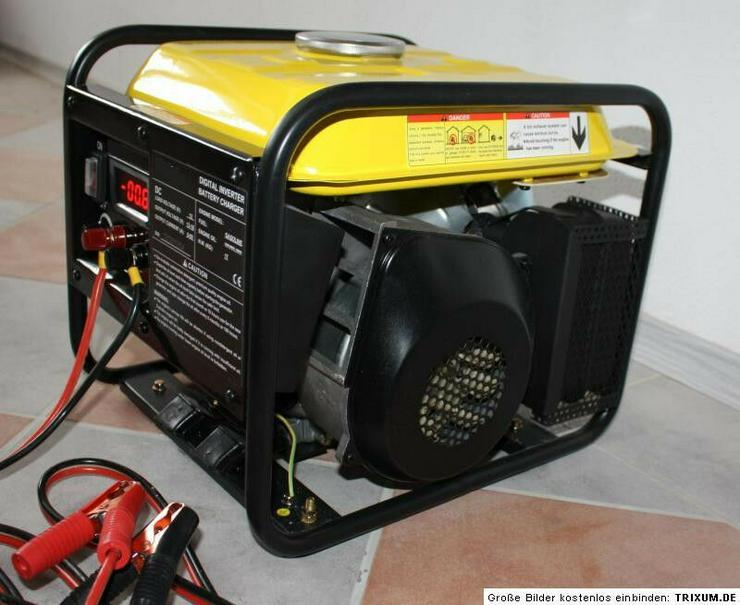 12 V Volt 60 A Ampere Stromgenerator Notstromaggregat  - Campingmöbel - Bild 1