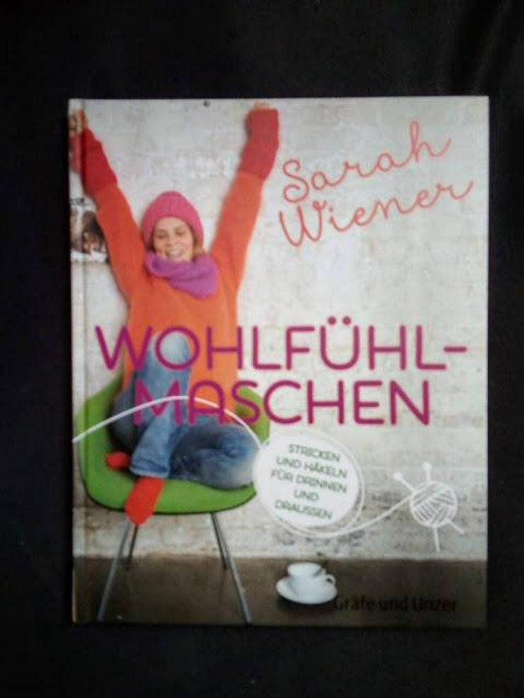 Buch Sarah Wiener Wohlfühlsachen Gräfe und Unzer Stricken und Häkeln