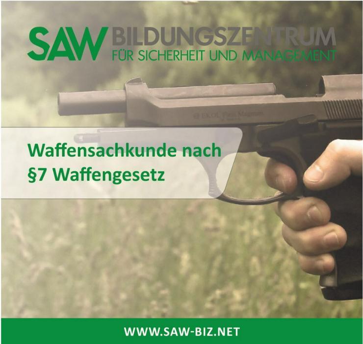 5 Tage Waffensachkunde §7 WaffG