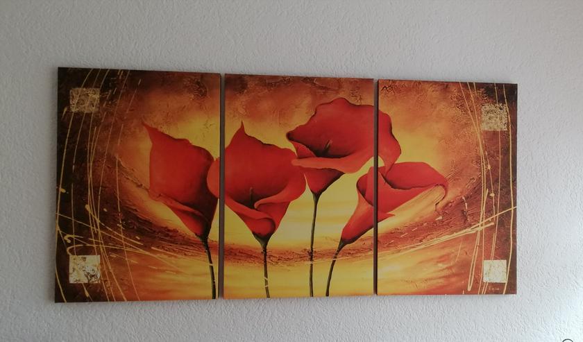 Wandbild 3-teilig