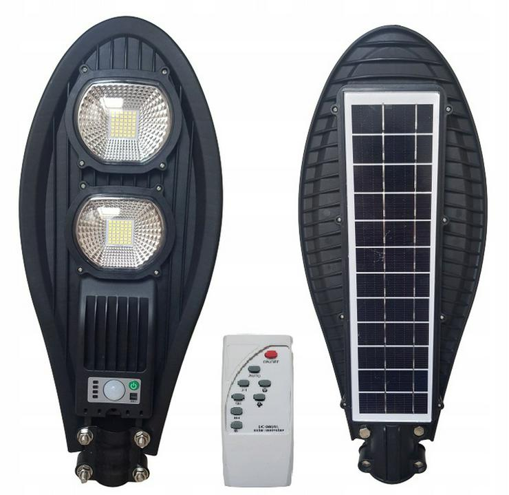 Solar LED Straßenlaterne COB + KOSTENLOSE MONTAGEHALTERUNG!