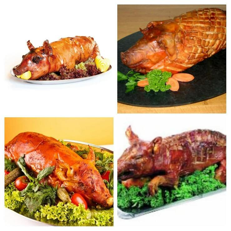Spanferkel gebacken oder gekasslert