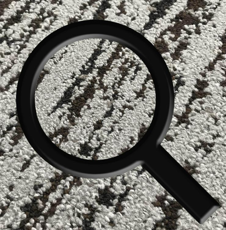 Bild 4: ANGEBOT: Teppichfliesen von Interface in Schwarz - Grau