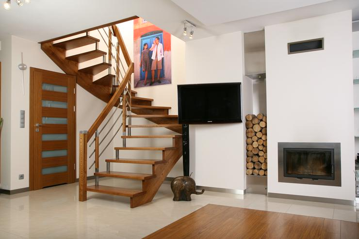 Bild 4: Holztreppe