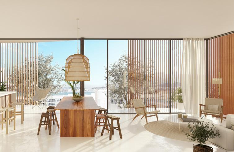 Luxus-Apartment mit Meerblick in Talamanca - Ibiza - Wohnung kaufen - Bild 1