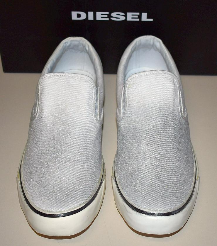Diesel Damen Schuhe Gr.40 Slipper Vansis Y00970 Sneaker 20101901 - Größe 40 - Bild 1