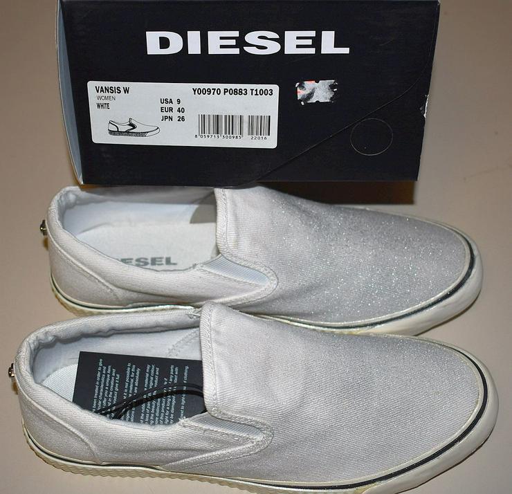 Bild 6: Diesel Damen Schuhe Gr.40 Slipper Vansis Y00970 Sneaker 20101901