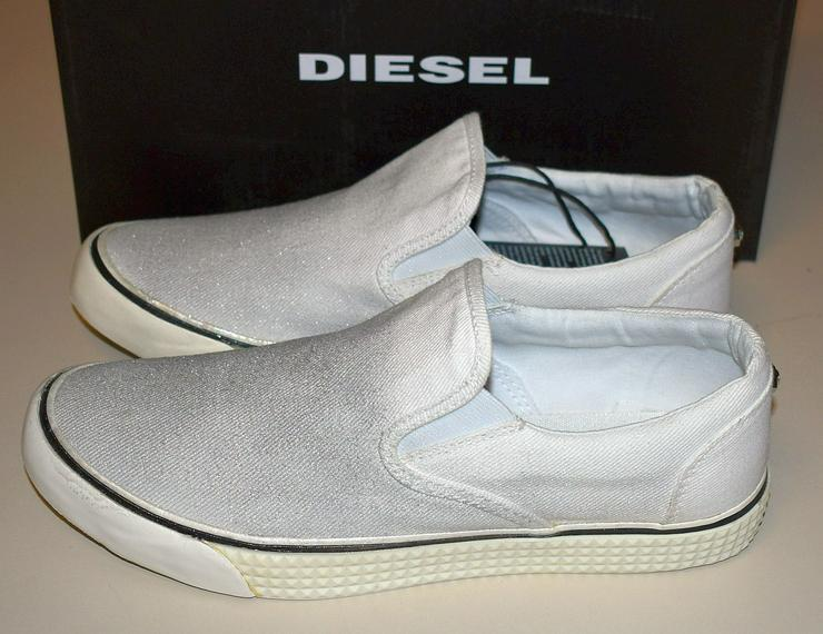 Bild 2: Diesel Damen Schuhe Gr.40 Slipper Vansis Y00970 Sneaker 20101901