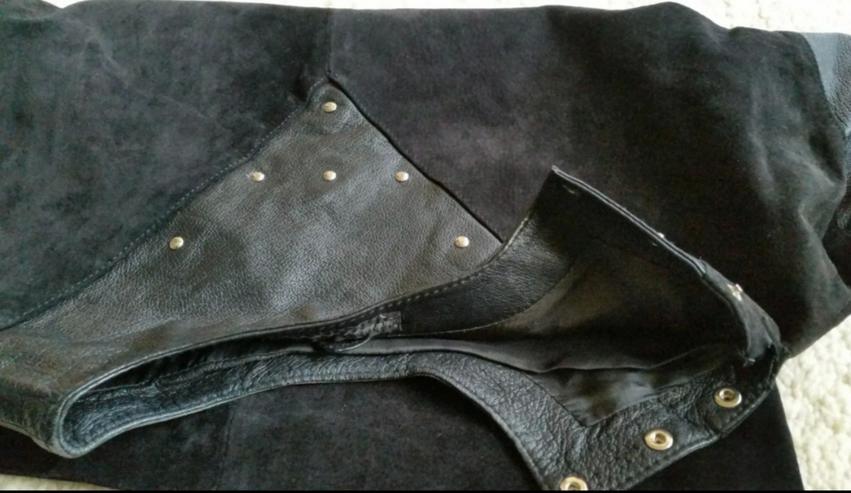 Bild 3: Schwarzes Leder Oberteil