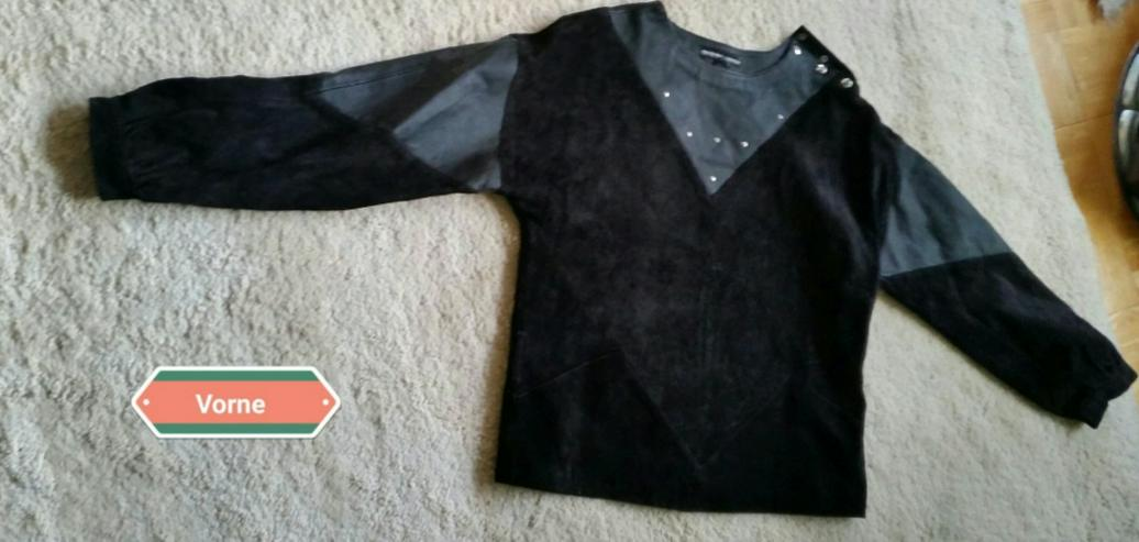 Bild 4: Schwarzes Leder Oberteil