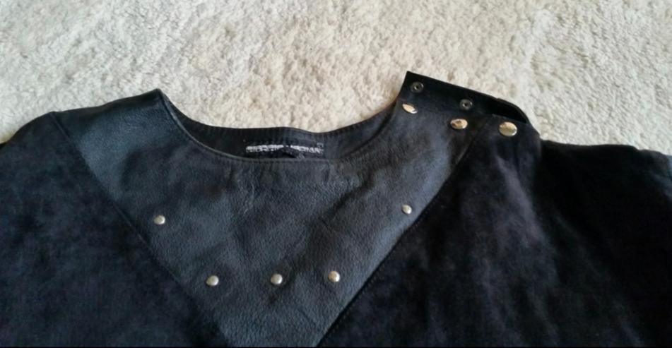 Bild 2: Schwarzes Leder Oberteil
